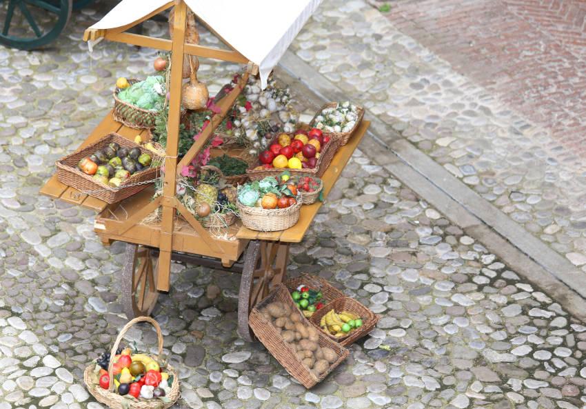 Frutta, verdura e vari ortaggi alla Fiera in Molise